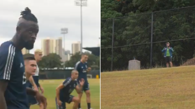 Seattle Sounders Fan Travels 2,665 Miles To Heckle Rivals Vancouver Whitecaps In Training