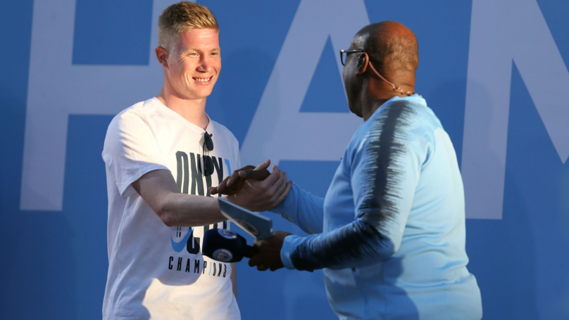 Kevin De Bruyne 'Suffers Knee Injury' In Manchester City Training