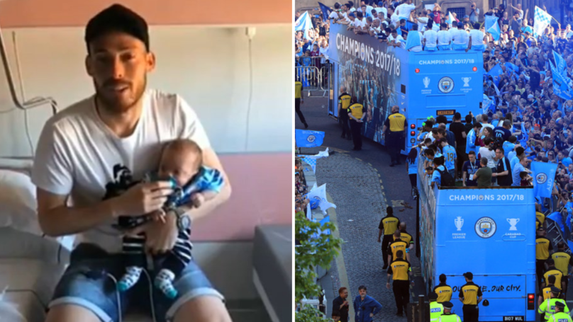 Watch: David Silva Sends Beautiful Video Message To All Those At Man City's Parade