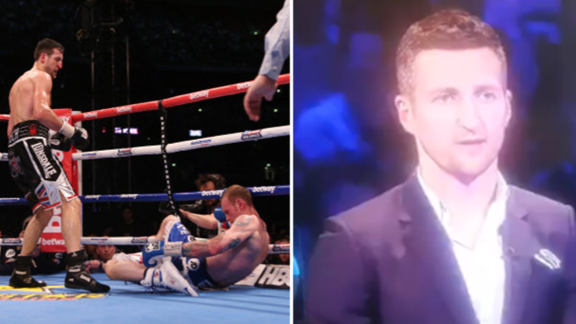 Carl Froch Only Took Seven Seconds To Mention Wembley On 'The Chase'