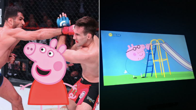 MMA Fans Outraged After Bellator Main Event Is Replaced By Peppa Pig