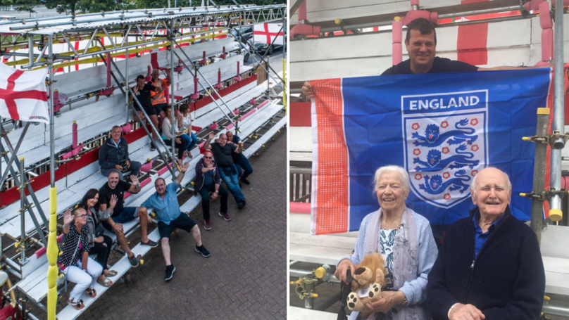 Pub Landlord Gives Football Fans Ultimate World Cup Experience With £5,000 Grandstand