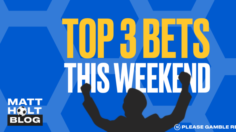 Matt Holt: Win £122 From £10 With My Weekend Treble