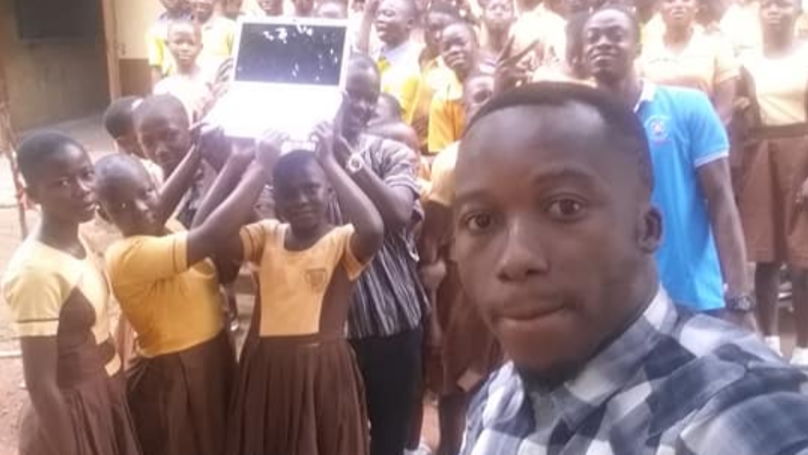 Ghanaian Teacher Who Taught Kids IT Without A Computer Now Has Several
