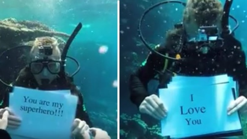 This Guy Proposes To His Girlfriend Whilst Scuba Diving And It's Epic