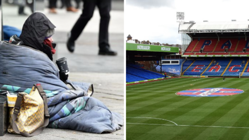 Crystal Palace's Selhurst Park Will Be Used As A Homeless Shelter