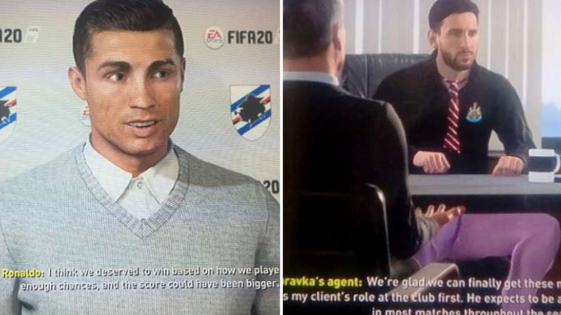 Lionel Messi And Cristiano Ronaldo Become Managers On FIFA 20