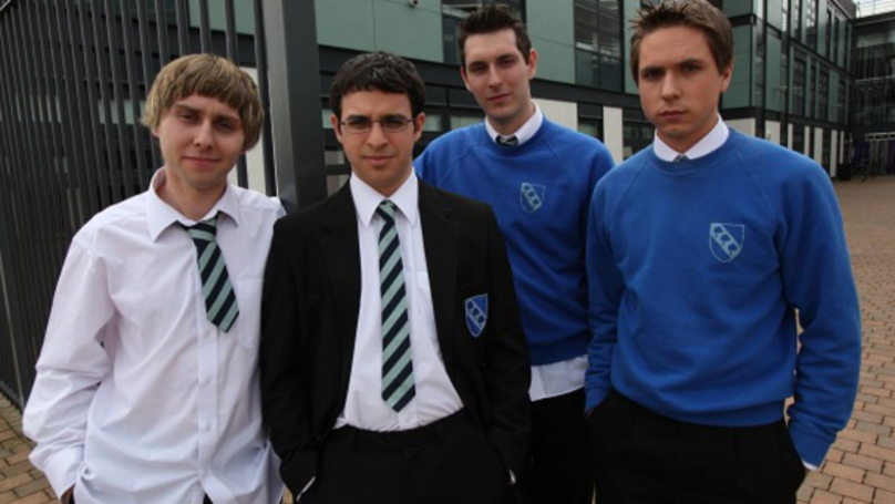 Blake Harrison Sparks 'The Inbetweeners' Reunion Talk With Yellow Car Tweet
