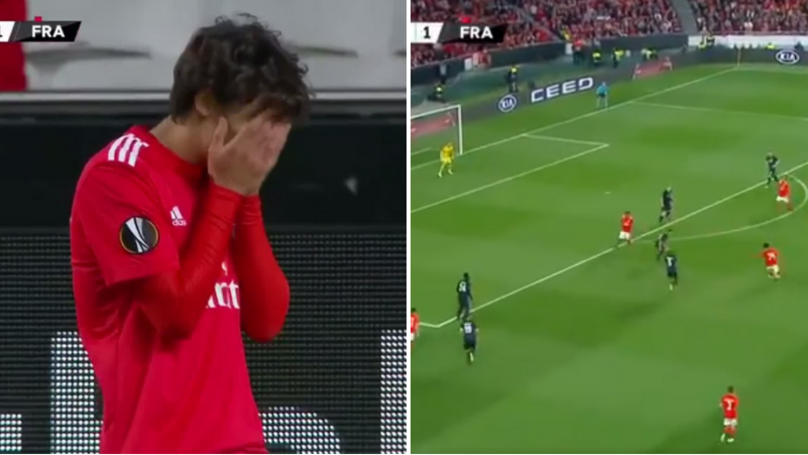 19-Year Old João Félix Scores Stunning Hat-trick Vs Frankfurt In Europa League Goalfest
