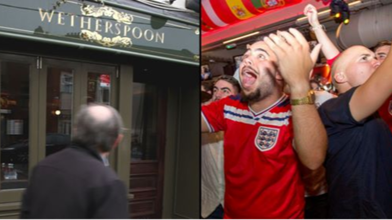 Wetherspoon Could Refuse To Serve Fans Wearing England Shirts For The World Cup 2018