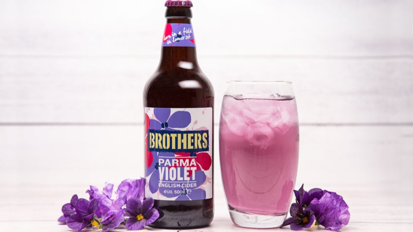 Brothers Cider Now Comes In A Parma Violet Flavour