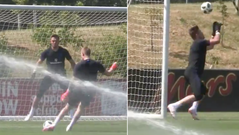 England's Goalkeeper Training Drills Ahead Of World Cup