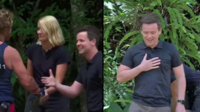 Holly Leaves Dec In Shock After Breaking 'I'm A Celeb' Rules During Trial