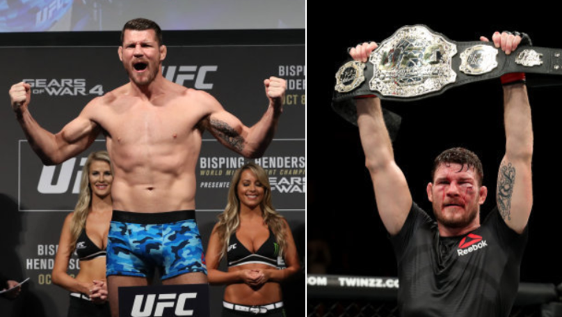 Michael Bisping Officially Retires From MMA
