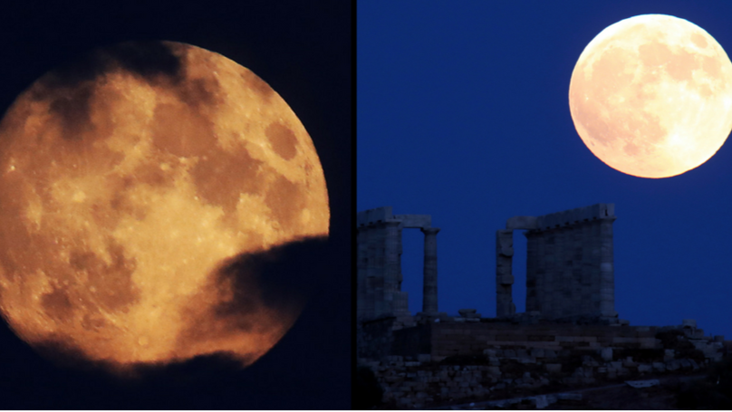 Longest Lunar Eclipse Of The Century Is Happening Right Now