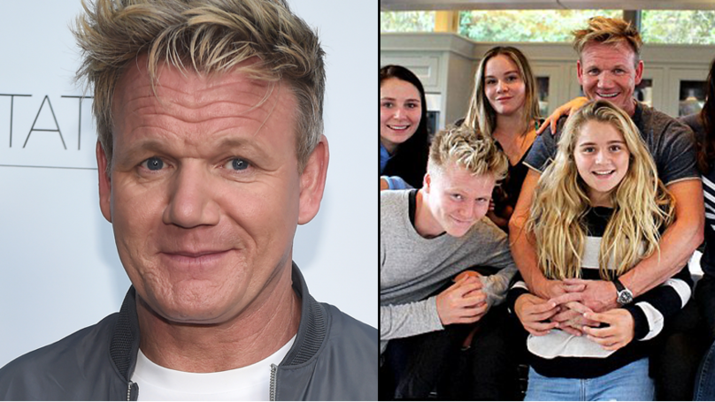 Gordon Ramsay Has Defended His Kids Having To Fly in Economy