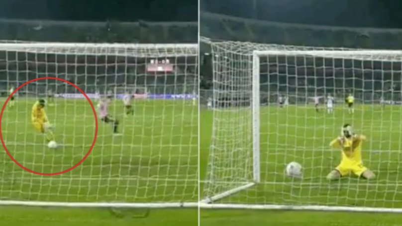 Ascoli Goalkeeper Filippo Perucchini Literally Dribbles The Ball Into His Own Net