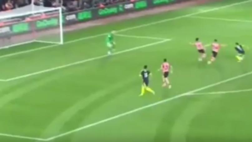 WATCH: Alexis Sanchez Scores Lovely Solo Goal Against Southampton | SPORTbible