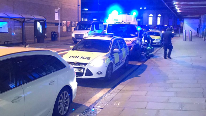 Three People Stabbed By Man In Manchester