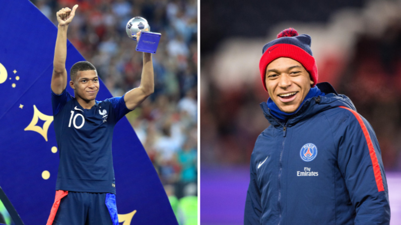 Kylian Mbappe Set To Change Number For PSG For Next Season