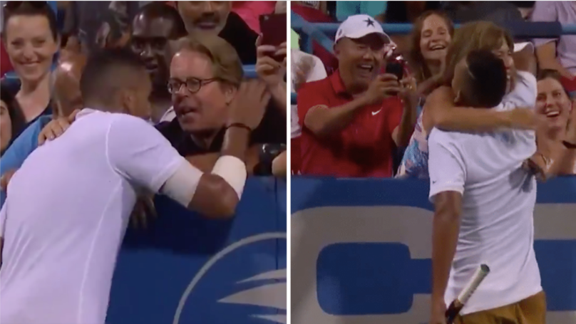 "Nick Kyrgios Keeps Asking Fans For Advice During Matches: ""Where Should I Serve This?"""