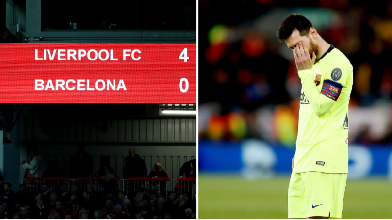 Lionel Messi 'Broke Down In Tears' In Anfield Dressing Room