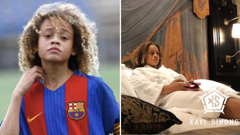 At 14 Year's Old, Barcelona Prodigy Xavi Simons Has A Truly Insane Lifestyle