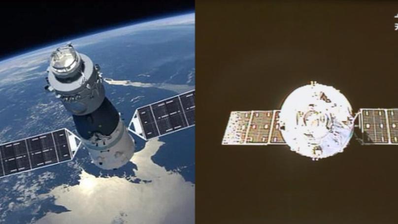 Experts Say An 'Out Of Control' Space Station Is Falling Towards Earth