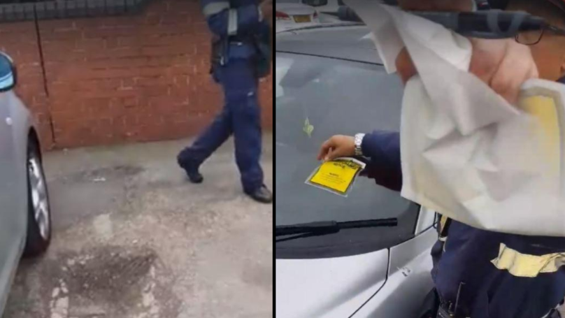 Motorist Gets Parking Ticket Even Though He's Paid For Ticket
