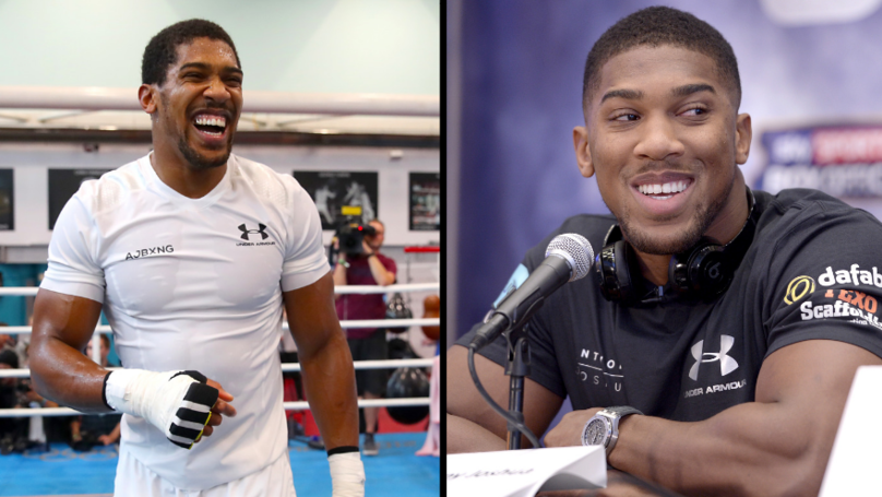 ​Everything Anthony Joshua Eats On His Training Day Diet