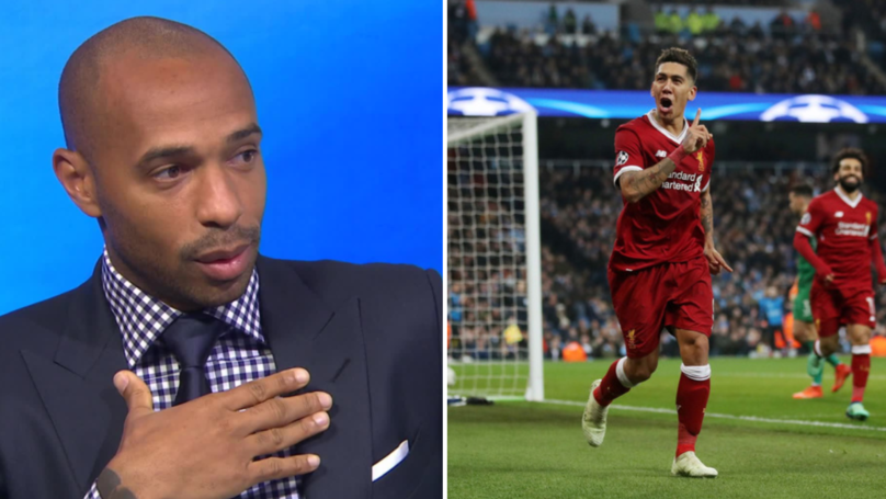 Thierry Henry Brilliantly Explains Why Roberto Firmino Is The Premier League's Most Complete Striker