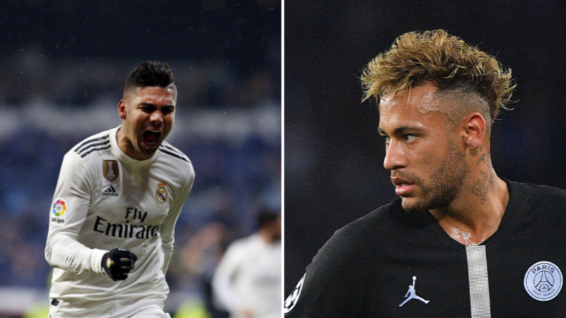 PSG Want Casemiro In Any Real Madrid Deal For Neymar