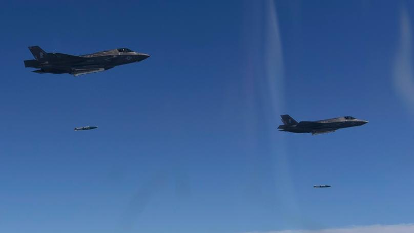 US Planes Drop Bombs Near North Korea Border
