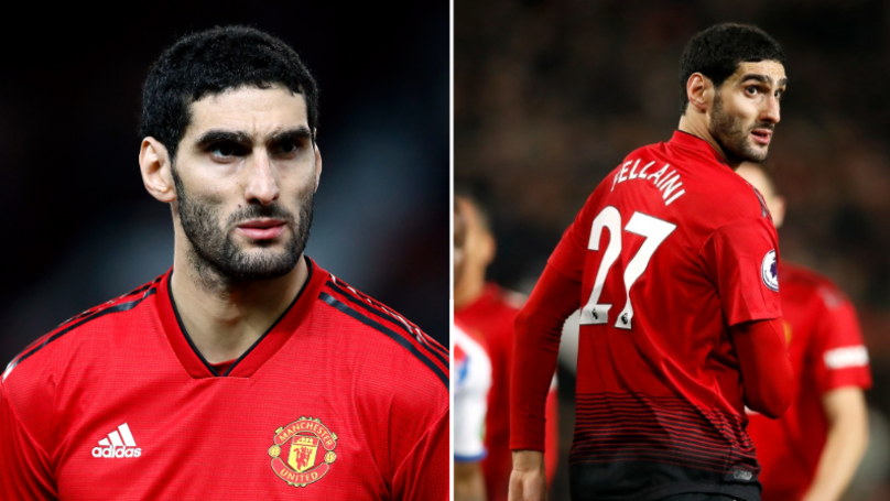 Manchester United In Talks With A Chinese Club Over Transfer Of Marouane Fellaini