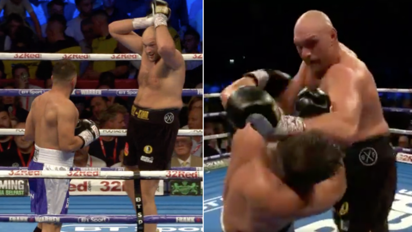 All The Reaction To Tyson Fury's Comeback Fight Against Sefer Seferi