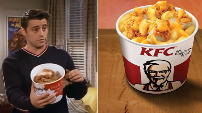KFC Is Now Selling Mac And Cheese With Fried Chicken For Breakfast