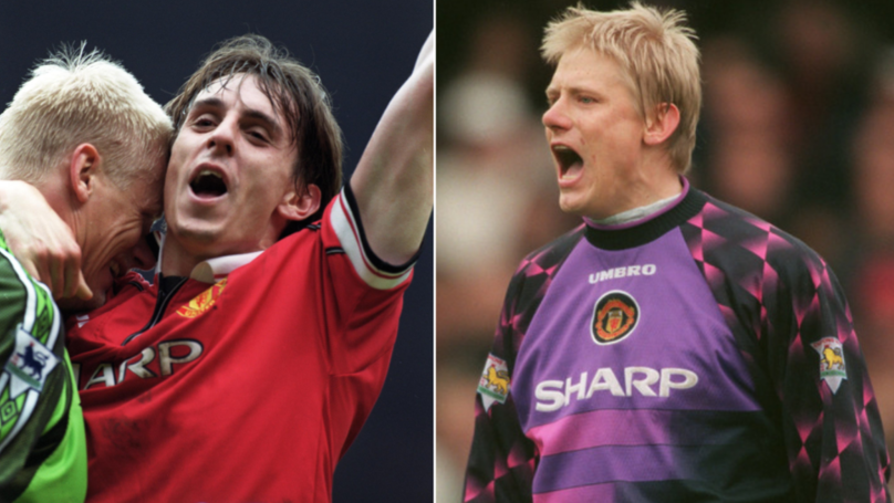 Gary Neville Reveals What Peter Schmeichel Said To Him When He Broke Into First Team