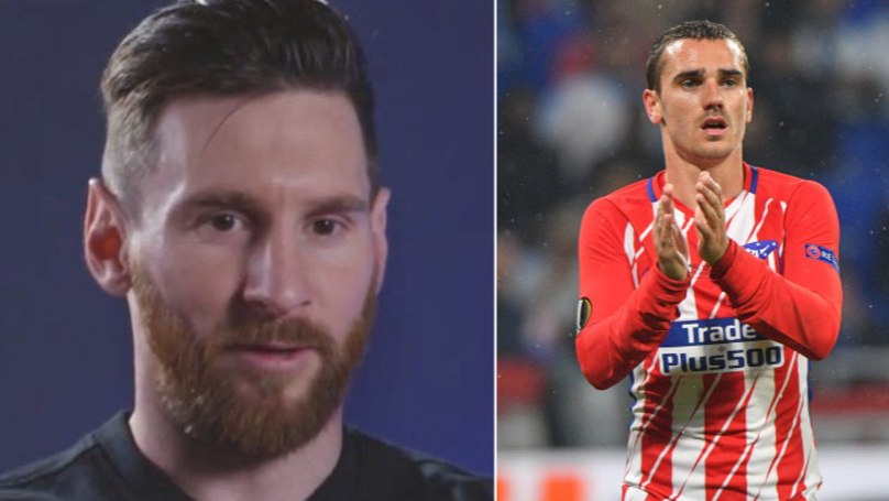 What Lionel Messi Has Said About Griezmann Potentially Joining Barcelona
