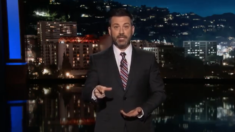 ​Jimmy Kimmel Tells Donald Trump 'You've Done Worse Than Nothing'