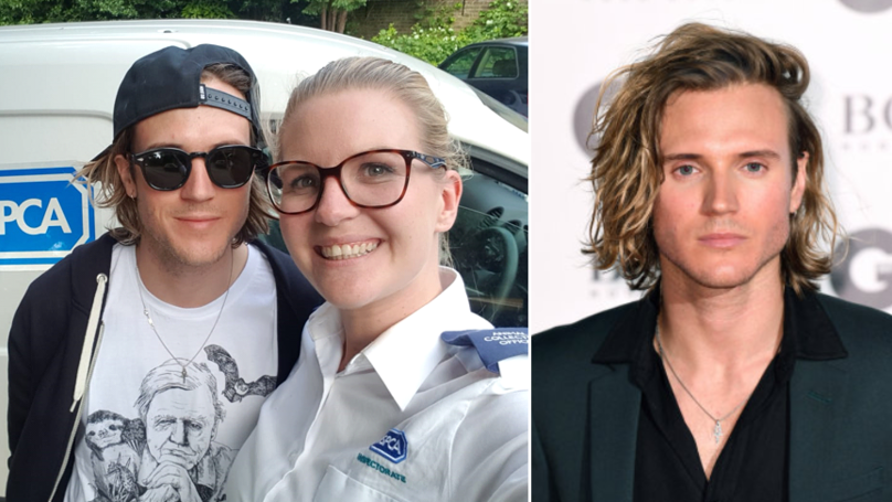 McFly's Dougie Poynter Saves Stranded Fox With Help Of RSPCA