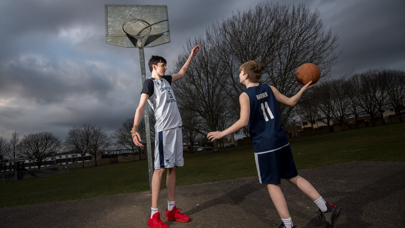 Seven Foot Brit May Be the Tallest Teen In The World