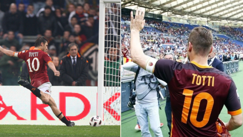 Francesco Totti: 'I'd Rather Die Than Leave Roma'
