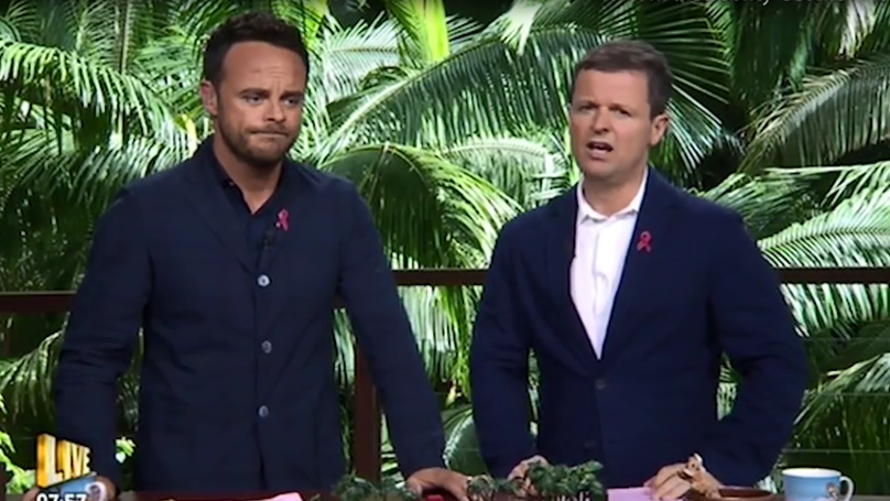'I'm A Celeb' Bosses Deny Ant McPartlin Made A Racial Slur During Last Night's Episode