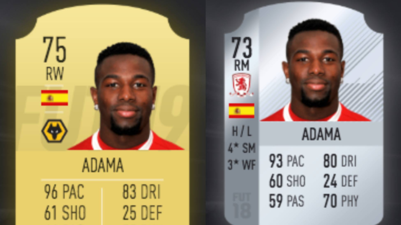 Adama Traore's FIFA 19 Ultimate Card Is Next Level
