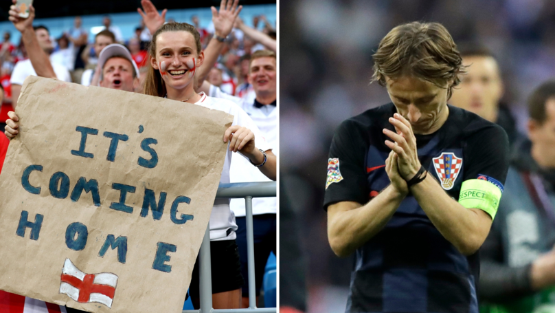 Luka Modrić Gives His Honest Opinion On 'It's Coming Home' Chant After England-Croatia Match
