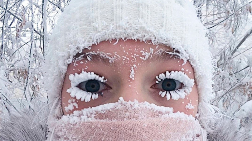 Russian Girl With Frozen Lashes Shares Even Freakier Summer Selfie