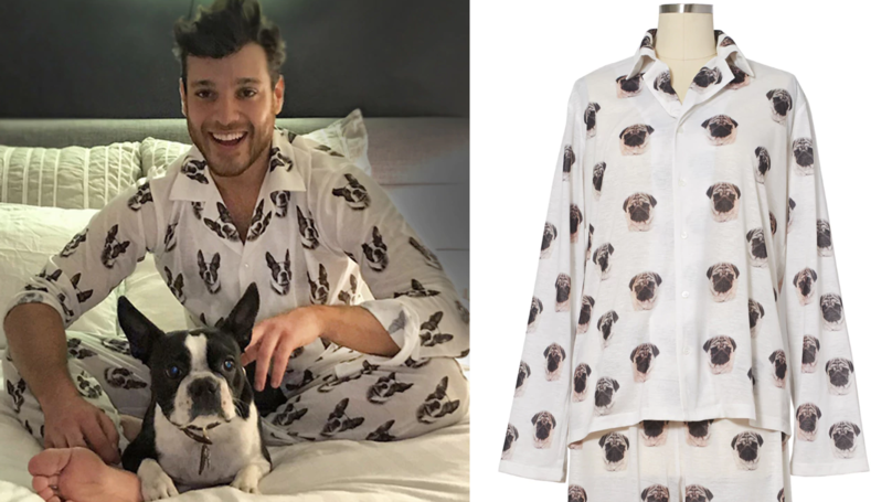 You Can Now Buy Custom PJs With Your Pet's Face All Over Them