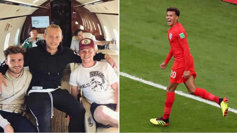 Dele Alli Brilliantly Treats His Mates After World Cup