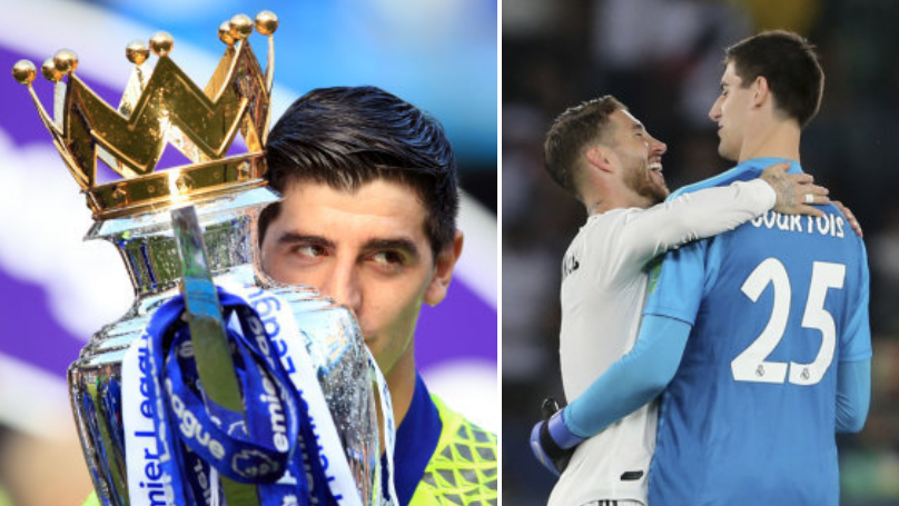 Ex-Chelsea Keeper Thibaut Courtois Brutally Trolls Liverpool Fan On Instagram