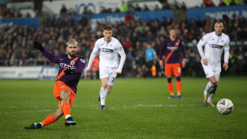 Manchester City Complete Stunning Comeback To Knock Swansea Out Of The FA Cup